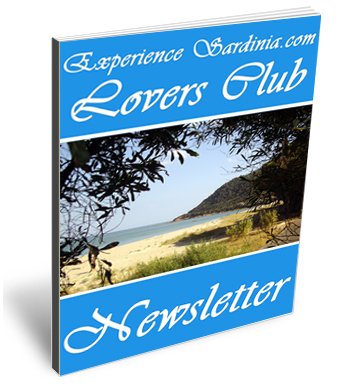 experience sardinia newletter cover