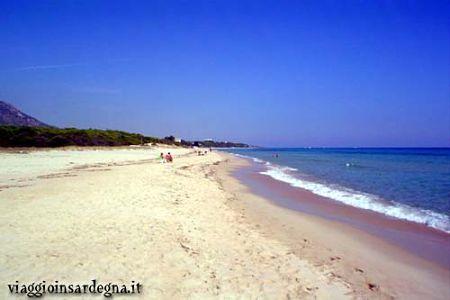 Cala Marina Beach Pula Italy