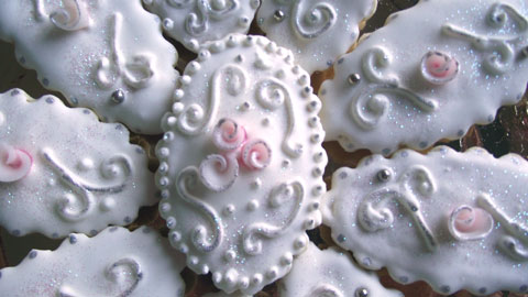 italian almond wedding cookies