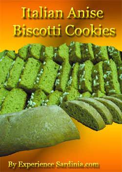 traditional italian anise biscotti cookies