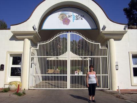 sardinia resorts arbatax park entrance