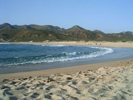 Plag'è Mesu Beach Gonnesa