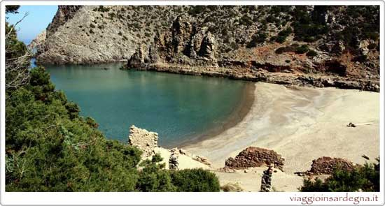 The Cala Domestica Beach Buggerru