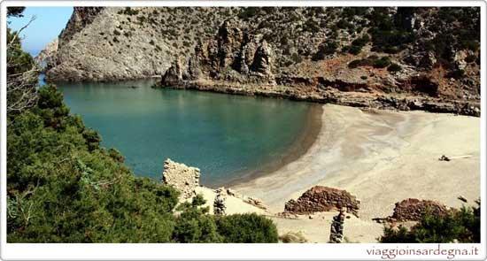 The Cala Domestica Beach Buggerru