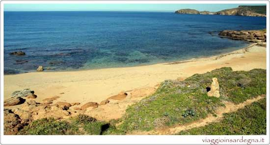 Picture of the Caletta Pistis Beach In medio campidano