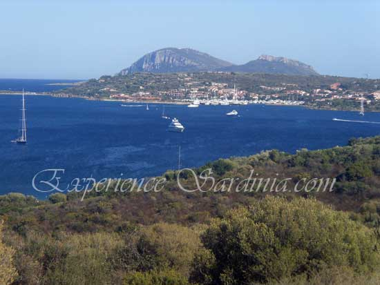 view of cannigione in costa smeralda sardinia
