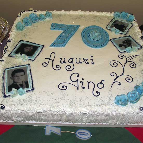 happy 70th birthday cake