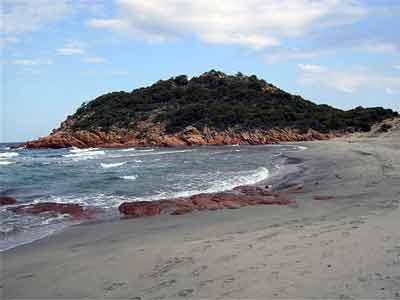 su surboni beach in the marina di gairo ogliastra