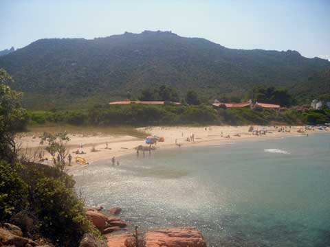 the beaches of sardinia Marina di Gairo Su Sirboni Beach