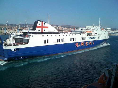 a sardinia ferry