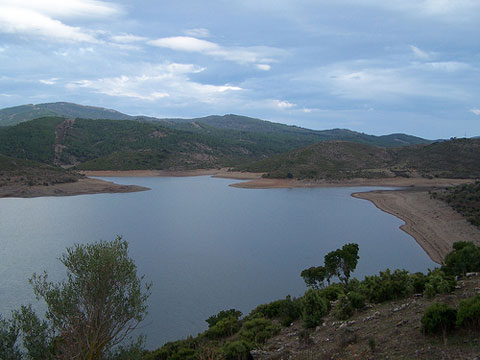 Flumendosa Lake Near Villagrande