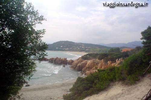 The Foxi Manna Beach In The Marina of Tertenia