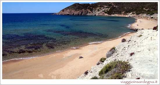 Picture of the Funtanazza Beach In medio campidano