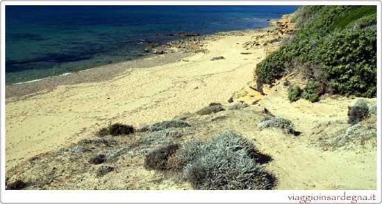 Picture of the Gutturu Flumini Beach In medio campidano