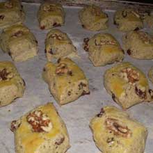 half baked walnut cookies