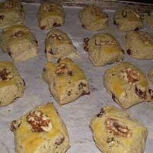 half baked walnut cookies
