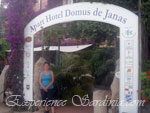 the domus de janas apartment hotel in barisardo
