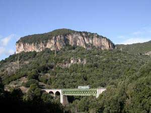 the train bridge near niala in oglisatra