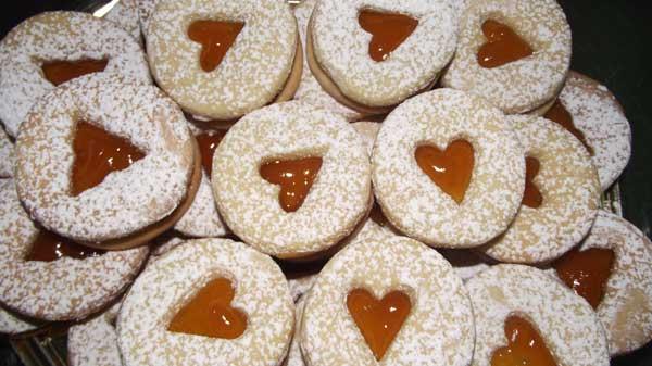 Italian Cookies Baking In Sardinia