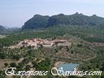 aerial view of the riugio di oglisatra hotel in san antonio