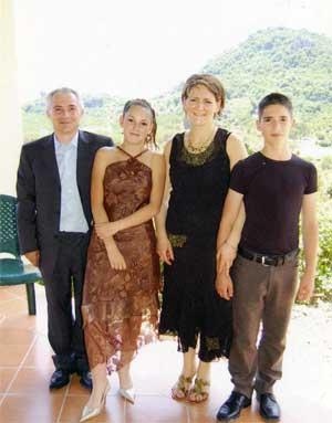 my family photo in sardinia