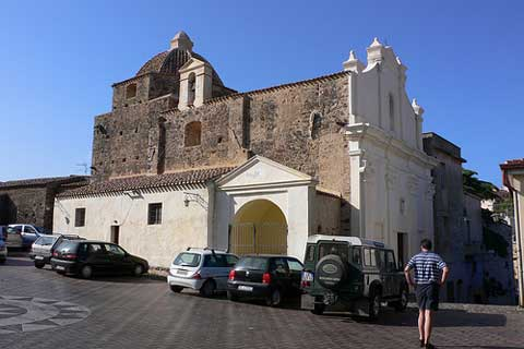old chruch in orosie sardinia