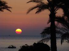 sunrise at the arbatax park resort