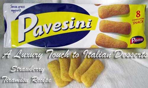 italian pavesini biscuits