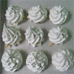 meringue cookies ready for the oven