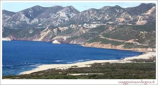 The Plag e Mesu Beach Sardinia