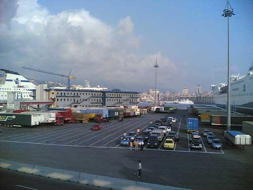 the Genova - Terminal Ferries