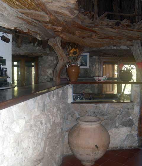 inside The Restaurant Il Golgo