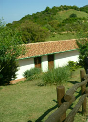 the accomodation building at the argriturism
