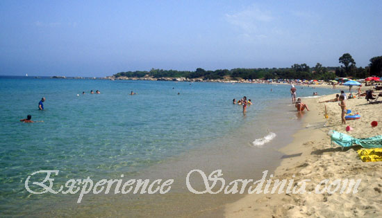 the sardinia beach of cea in ogliastra italy