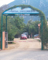 the campsite near the beaches of sardinia coccorocci