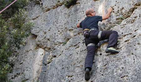 Free Climbing in Jerzu
