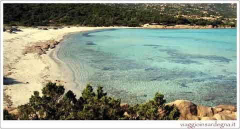 a sardinia beach
