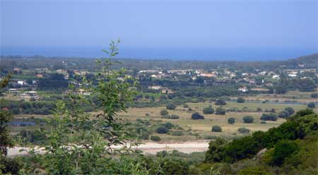 View of the Valley From the Agriturisum S'Omueccia