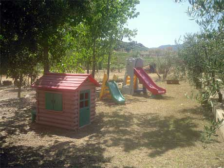 childrens play ground at the residence
