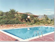 swimming pool sardinia villa residence