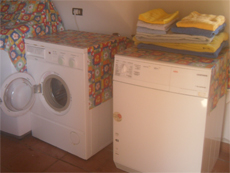 washing machine and dryer  at the villa residence