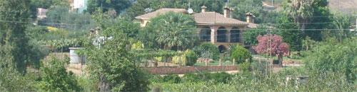 a sardinia villa in the countryside