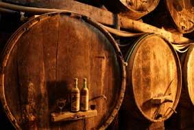 Wooden Oak Barrels