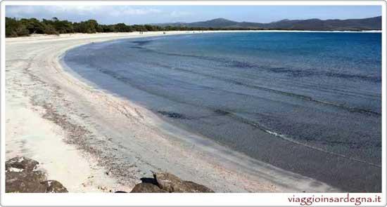 The Seconda Spiaggia in Sant'Anna Aresi Sardinia
