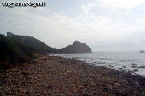 Cape Sferracavallo in the Marina di Tertenia