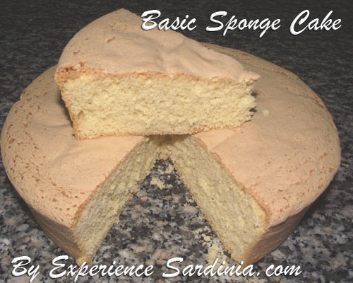 simple homemade sponge cake