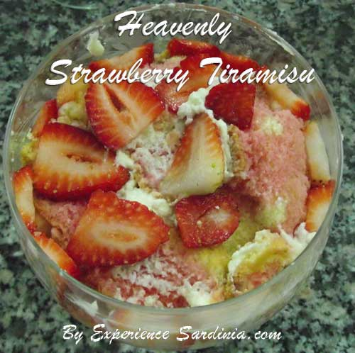 italian dessert recipe with strawberries