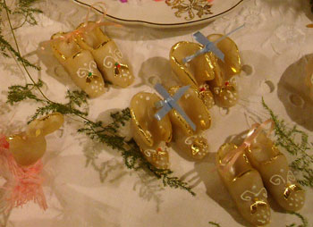 tradtional sardinian wedding cookies