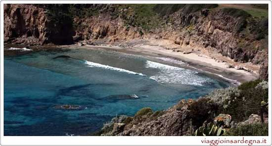 The Turri Beach On the Isle of San Antioco Sardinia