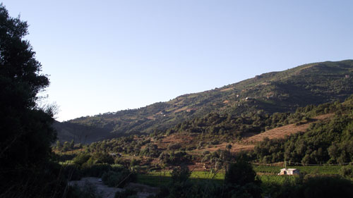 the valley of pardu in ogliastra